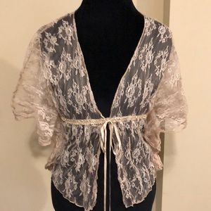 NWT Fire Los Angeles Lace Top SZ XS! (A569)